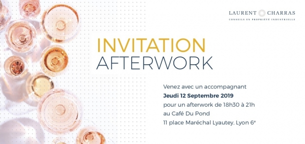 Afterwork Laurent & Charras - Café Du Pond - Jeudi 12 septembre 2019